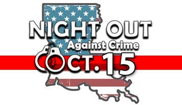 Night Out Against Crime - October 15, 2019