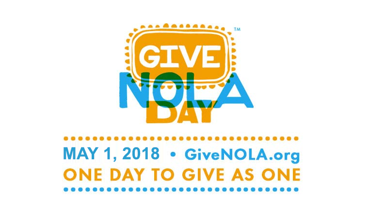 GiveNOLA Day May 1st, 2018